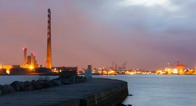 Relocation of oil jetties at Dublin Port by Shane Malone