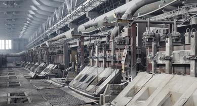 Installation of thermal oxidiser at aluminium smelter by Liam P. Ó Cléirigh